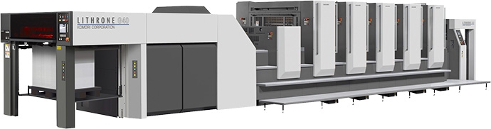 Komori LITHRONE GL-540HC+UV